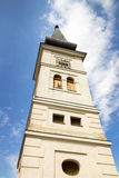Historic Square Clock Tower Royalty Free Stock Images