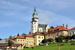 Historic square in the mining town of Kremnica Royalty Free Stock Image