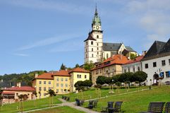 Historic square in the mining town of Kremnica Royalty Free Stock Photography