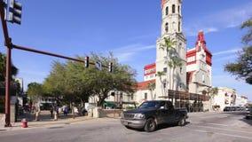Historic St Augustine FL stock video footage