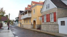 Historic St. Augustine FL stock video
