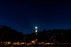 Historic St Augustine Florida lighthouse building Royalty Free Stock Images