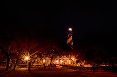 Historic St Augustine Florida lighthouse building Stock Image