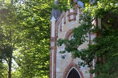 Zapresic, Croatia. Historic St. Joseph Chapel in complex The Novi Dvori, in Zapresic, Croatia. It belonged to historic Croatian viceregent Josip Jelacic stock images