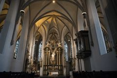 St. Lambertus Church Dusseldorf Royalty Free Stock Photography