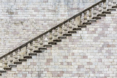 Historic staircase in Italy Stock Photo
