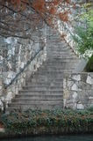 Historic Stairs. Stairs on the river walk of San Antonio Texas Royalty Free Stock Images