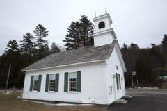 Historic Stark Union Church in Stark, New Hampshire. Stock Photos