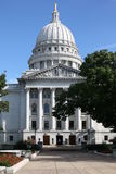 The historic State House of Wisconsin in Madison, USA stock photo