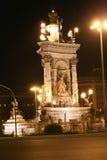 Historic Statue in Barcelona Stock Photo