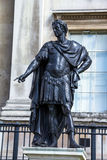 Historic statue of King James II of England. London, UK Royalty Free Stock Photos