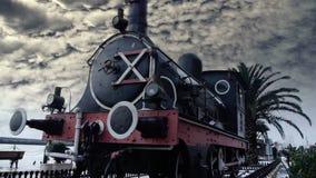 Historic steam engine stock video
