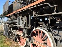 Historic steam engine Stock Photos