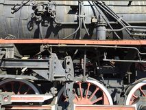 Historic steam engine Stock Photo
