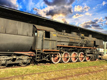 Historic steam engine Royalty Free Stock Image