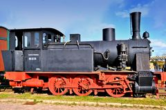 A historic steam locomotive Stock Photography