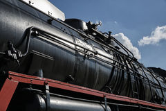 the historic steam locomotive Stock Images