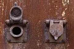 Historic steam regulation valve Royalty Free Stock Images