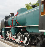 Historic steam train Stock Photo
