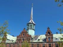 Historic Stock Exchange building, Copenhagen, Denmark, Scandinavia, Europe stock image