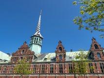 Historic Stock Exchange building, Copenhagen, Denmark, Scandinavia, Europe stock photography