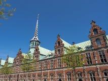 Historic Stock Exchange building, Copenhagen, Denmark, Scandinavia, Europe royalty free stock photography