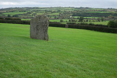 Historic stone. Ancient stone at Newgrange, Co Meath Stock Photo