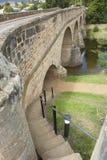 Historic Stone Bridge in Richmond, Tasmania, Australia Royalty Free Stock Photos