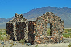 Historic Stone building. This stone building is in northern Nevada a long a Hwy way out in the hi desert   I really dont know its history Stock Photography