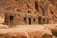Historic Stone Cabins Stock Photos
