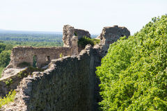 Historic stone fortress Fort Koporye. Historic destroyed stone fortress Fort Koporye, Russia Royalty Free Stock Images