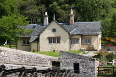 Historic stone house Royalty Free Stock Images