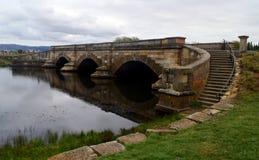 Historic stone Richmond Bridge, Tasmania Royalty Free Stock Photos