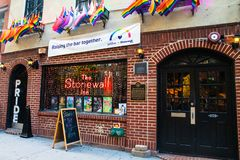 Free Historic Stonewall Inn Gay Bar In Greenwich Village Lower Manhattan Royalty Free Stock Image - 157146646