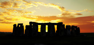 Historic Stonhenge Stock Photography