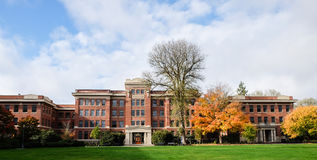 The historic Strand Agriculture Hall on the Oregon State Univers Royalty Free Stock Photography