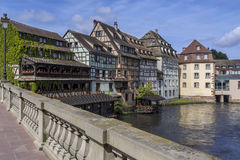 Historic Strasbourg - Alsace - France Royalty Free Stock Photos