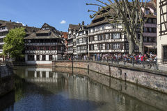 Historic Strasbourg - Alsace - France Stock Photo