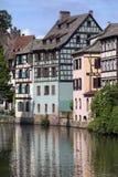 Historic Strasbourg - Alsace - France Stock Image