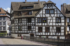 Historic Strasbourg - Alsace - France Stock Photos