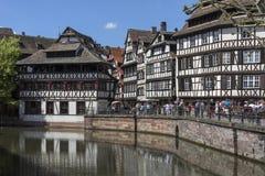 Historic Strasbourg - Alsace - France Stock Photography