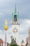 Historic Straubing Stock Photography