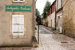 Historic street in Bayeux Royalty Free Stock Photos