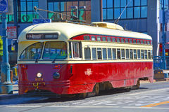 Historic street car Stock Photography