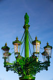The historic street lamp Royalty Free Stock Images