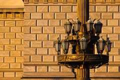 The historic street lamp Stock Photo