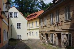 Historic Street near Prague Castle, Czech Republic Stock Image