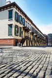 Historic Street in New York City Royalty Free Stock Photo