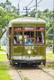 Historic streetcar St. Charles Stock Photography