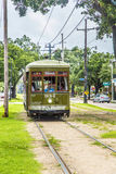 Historic streetcar St. Charles in New Orleans Royalty Free Stock Image